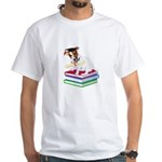 Jack Russell Terrier Graduation White T-Shirt