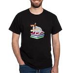 Jack Russell Terrier Graduation Dark T-Shirt
