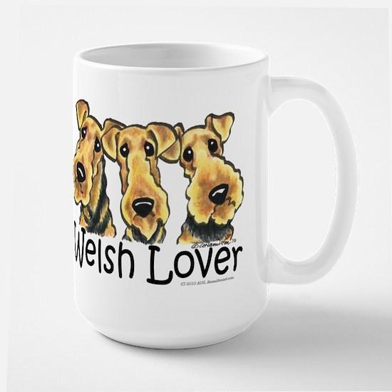 Welsh Terrier Lover Large Mug