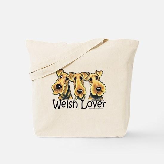 Welsh Terrier Lover Tote Bag