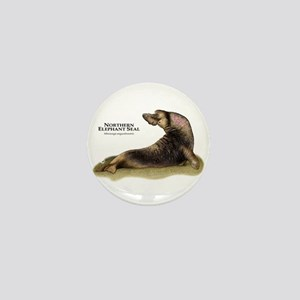 Northern Elephant Seal Mini Button