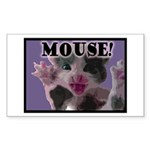 MOUSE! Sticker (Rectangle 10 pk)
