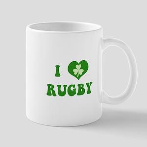 I Love Rugby Mug