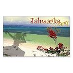 Jahworks.org Sticker (rectangle)