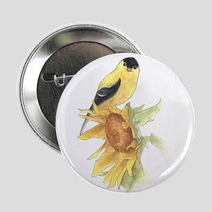 """Goldfinch 2.25"""" Button"""