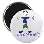 I Love Mommy- Son Magnet