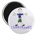 """I Love Mommy- Son 2.25"""" Magnet (10 pack)"""