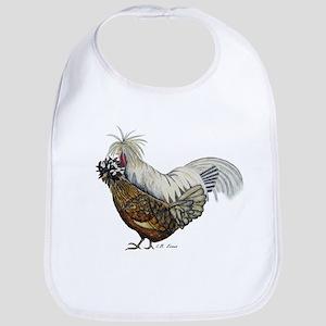 Crazy Chickens Bib