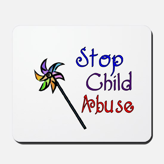 Child Abuse Awareness Mousepad