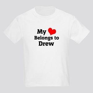 My Heart: Drew Kids T-Shirt