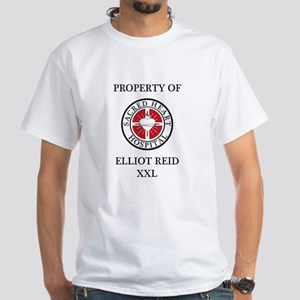 Property of Elliiot Reid White T-Shirt