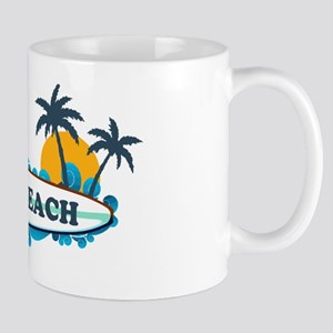 Folly Beach SC - Surf Design Mug