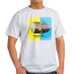 Dhol Player. Light T-Shirt