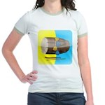 Dhol Player. Jr. Ringer T-Shirt