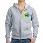 Dhol Player. Women's Zip Hoodie