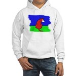 ARTISTIC CARTOON DOG Hooded Sweatshirt