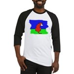 ARTISTIC CARTOON DOG  Baseball Jersey
