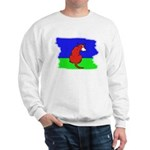 ARTISTIC CARTOON DOG  Sweatshirt