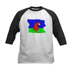 ARTISTIC CARTOON DOG  Kids Baseball Jersey