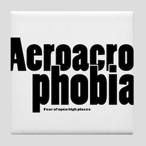 Aeroacrophobia Tile Coaster