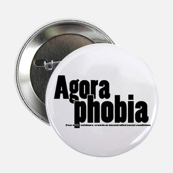 """Agoraphobia 2.25"""" Button"""