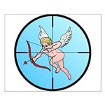 Target Cupid Small Poster