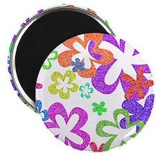 Sparkle Flower Magnet