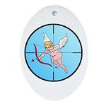 Target Cupid Oval Ornament