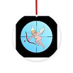 Target Cupid Ornament (Round)