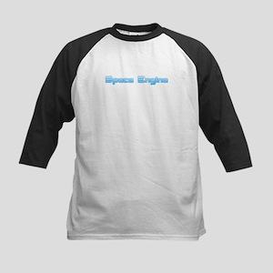 SpaceEngine Logo One-Line Transpar Baseball Jersey