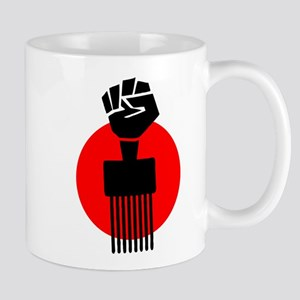 Black Fist Power Mug