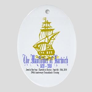 Mayflower Cruise Ornament (Oval)