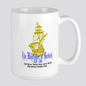 Mayflower Cruise Large Mug