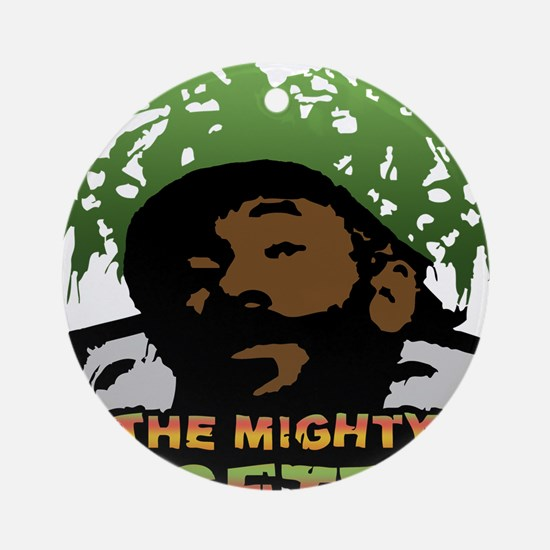 The Mighty Upsetter Ornament (Round)