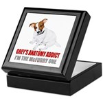 Grey's Anatomy Addict Keepsake Box