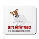 Grey's Anatomy Addict Mousepad