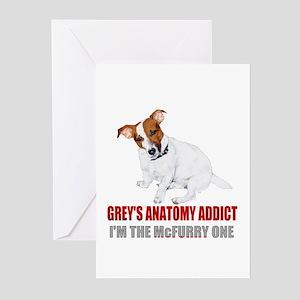 Grey's Anatomy Addict Greeting Cards (Pk of 20)