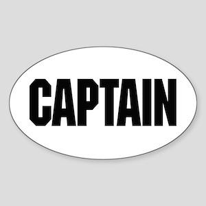 Captain Sticker (Oval)