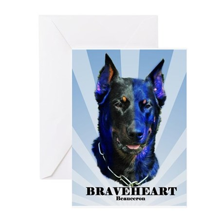 Braveheart dark #1 Greeting Cards (Pk of 20)