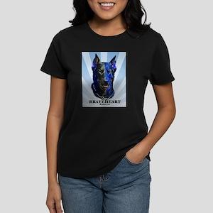 Braveheart dark #1 Women's Dark T-Shirt