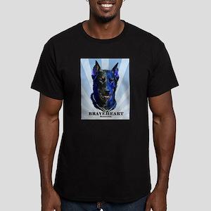 Braveheart dark #1 Men's Fitted T-Shirt (dark)
