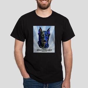 Braveheart dark #1 Dark T-Shirt