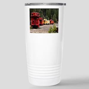 Caboose Line Stainless Steel Travel Mug