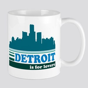 Detroit Is For Lovers Mug