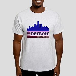 Detroit Is For Lovers Light T-Shirt