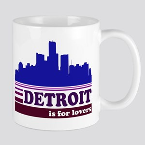 Detroit Is For Lovers Mug
