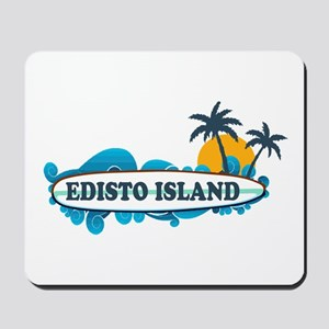 Edisto Island SC - Surf Design Mousepad