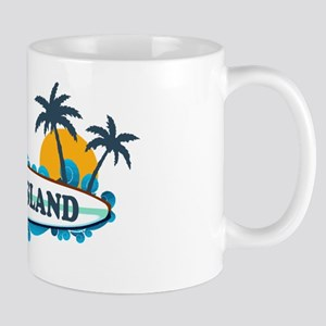 Edisto Island SC - Surf Design Mug