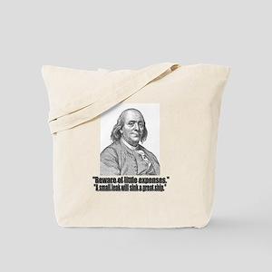 Franklin 4 Tote Bag