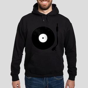 Vinyl Turntable 1 Hoodie (dark)